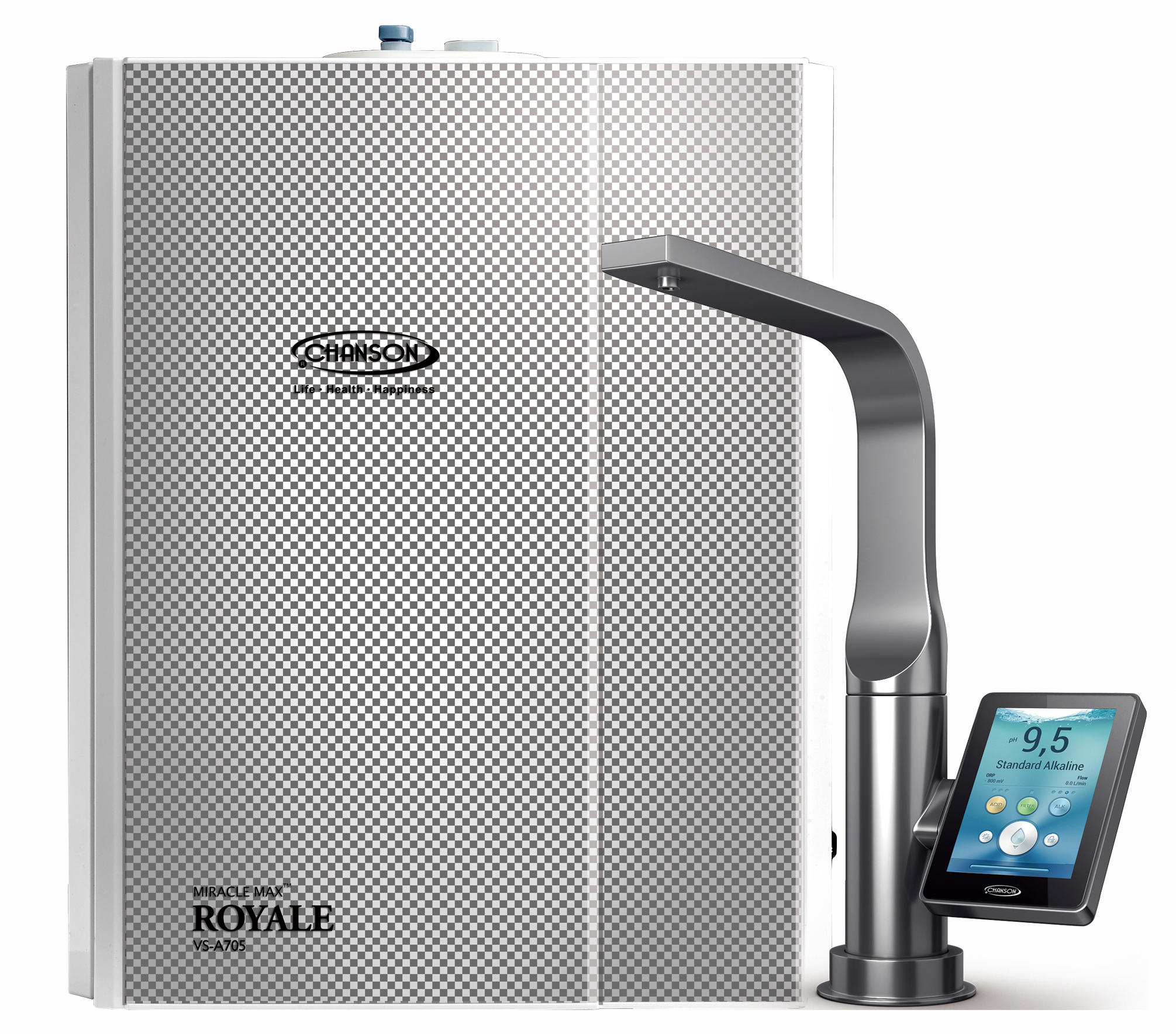 Chanson Miracle MAX Royale Under Counter Water Ionizer with Digital Display